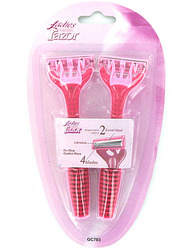 Ladies Disposable Razor Set ( Case of 24 )