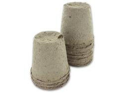 Biodegradable Peat Pots ( Case of 24 )