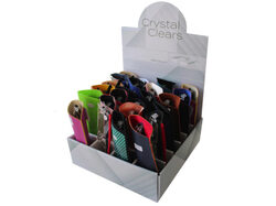 stylish lucite reading glasses in pouch ( Case of 72 )