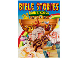 Category: Dropship Religious, SKU #GM582-144, Title: Bible stories coloring book ( Case of 144 )