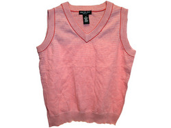 Red Striped Vest Assorted Sizes ( Case of 36 )