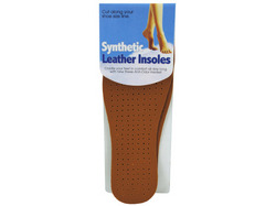 Synthetic Leather Insoles ( Case of 36 )