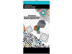 Geometrics Small Coloring Pad ( Case of 24 )