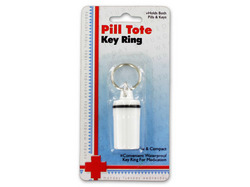Pill Tote Key Ring ( Case of 12 )