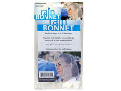 Bouffant Style Rain Bonnet ( Case of 72 )