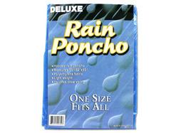 Hooded Rain Poncho ( Case of 72 )