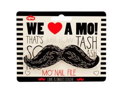 Black Mustache Nail File ( Case of 96 )