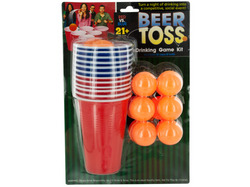 Beer Toss Drinking Game Kit ( Case of 4 )