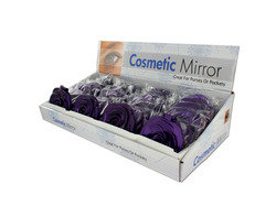 Rosette Design Cosmetic Mirror Countertop Display ( Case of 72 )
