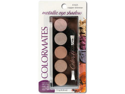 Colormates Copper Shimmer Metallic Eye Shadow Compact ( Case of 24 )
