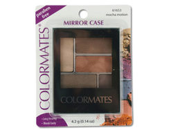 Colormates Mocha Motion Mirror Case Eye Shadow ( Case of 24 )