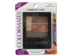 Colormates Mocha Motion Mirror Case Eye Shadow ( Case of 48 )
