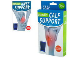 Elastic Calf & Knee Support Brace ( Case of 12 )