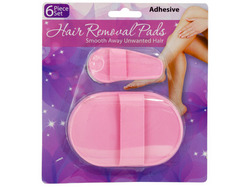 Hair Removal Pad Set ( Case of 54 )