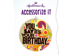 'You Say It's Your Birthday' Gift Trim Tag ( Case of 36 )