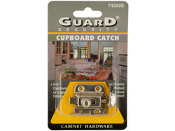 Chrome Plated Steel Cupboard Catch ( Case of 72 )