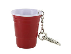 Red Cup Theme Keychain ( Case of 48 )