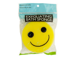 Emoticon Bath Sponge ( Case of 40 )