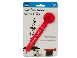 Coffee Scoop with Bag Clip ( Case of 32 )