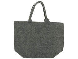 Feltables Charcoal Flat Bottom Tote ( Case of 8 )