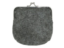 Feltables Charcoal Coin Purse ( Case of 72 )