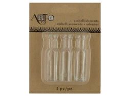 Mini Clear Craft Wine Bottle Set ( Case of 20 )