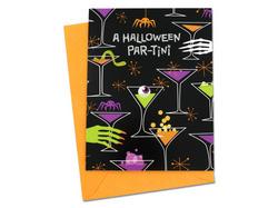 "Halloween ""Par-Tini"" invitations ( Case of 72 )"