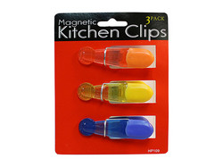 Magnetic Kitchen Clips ( Case of 12 )