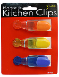 Magnetic Kitchen Clips ( Case of 24 )
