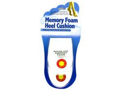 Memory Foam Heel Cushions ( Case of 24 )