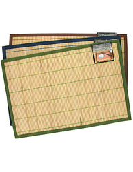 Striped Bamboo Placemat ( Case of 96 )