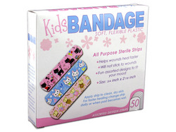 Bandages with Kids Designs ( Case of 72 )