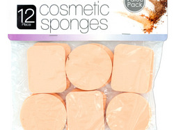 Cosmetic Sponges Set ( Case of 24 )