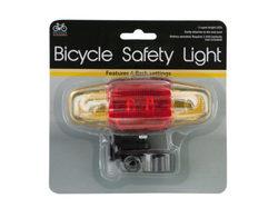 Flashing LED Bicycle Safety Light ( Case of 12 )