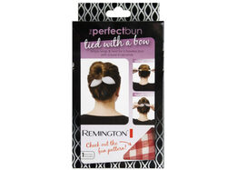 1 count printer perfect bun bow in assorted colors ( Case of 24 )