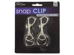 Snap Clip Key Chains ( Case of 36 )
