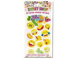 Scentos Sweet Shop Color Change Tattoos ( Case of 48 )