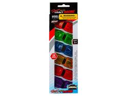 6 Pack Super Race Car Set ( Case of 12 )