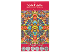Infinite Reflections Adult Coloring Poster Set ( Case of 36 )