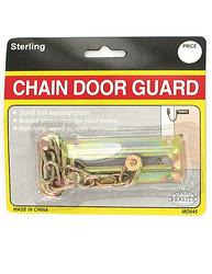 Chain Door Guard with Screws ( Case of 72 )