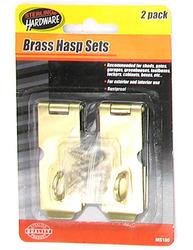Gold Tone Iron Hasp Set ( Case of 72 )