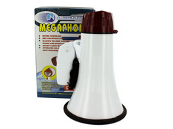 Compact Megaphone with Siren ( Case of 3 )