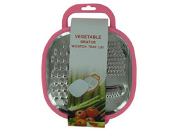 3 in 1 Multi-Grater with Snap-On Catch Tray ( Case of 12 )