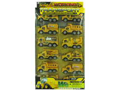 Construction Truck Toy Set ( Case of 4 )