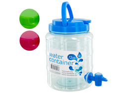 72 oz Water Container with Spigot & Handle ( Case of 16 )
