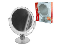 Dual Sided Round Stand Up Vanity Mirror ( Case of 8 )