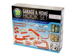 Assorted Garage & Home Hook Set ( Case of 1 )