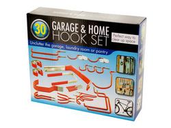 Assorted Garage & Home Hook Set ( Case of 4 )