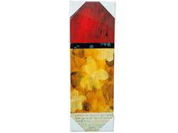 Abstract Red and Orange Wall Art ( Case of 1 )