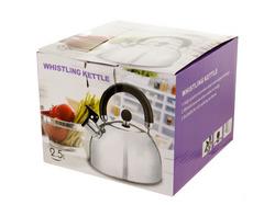 Whistling Stainless Steel Tea Kettle ( Case of 4 )
